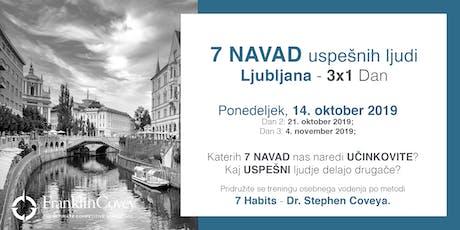 7 Navad - Ljubljana - October tickets