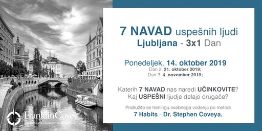 7 Navad - Ljubljana - October
