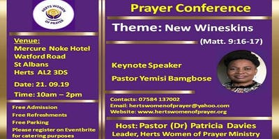 Herts Women of Prayer Conference