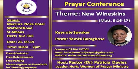 Herts Women of Prayer Conference tickets