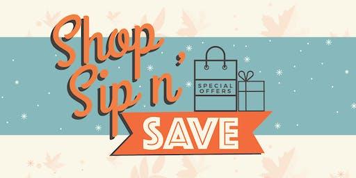 Shop, Sip & Save