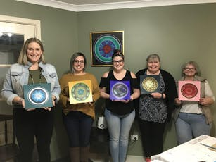 November Mini Mandala Painting Workshop tickets