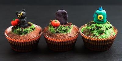 Atelier des Petits Cuistots: décoration de petits gâteaux monstrueux