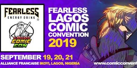 FEARLESS LAGOS COMIC CON  2019 tickets