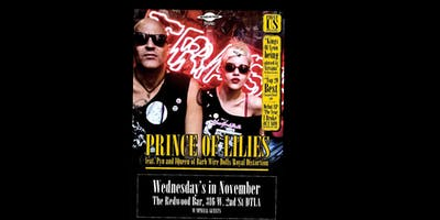 In Fuzz we Trust presents Prince of Lilies at the Redwood Bar November 13th