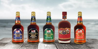 Pusser's Rum Tasting at Be At One!