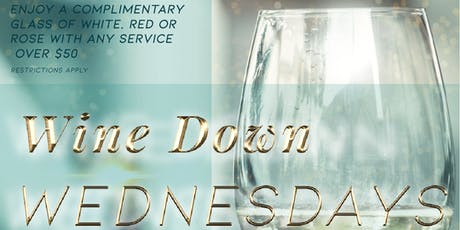 Wine Down Wednesdays at Studio Chique- An Upscale Salon & Spa tickets