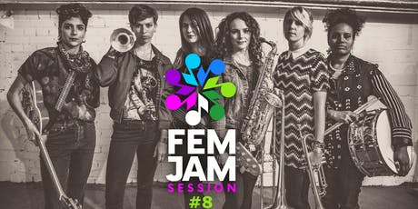 The Fem Jam #8 at Bar Tausend LIVE Tickets