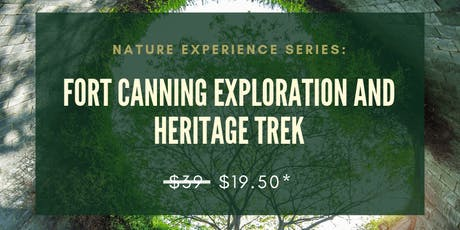 22 SEP: (50% OFF) NATURE EXPERIENCE SERIES: FORT CANNING EXPLORATION AND HERITAGE TREK tickets