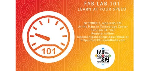 NEW Fab Lab 101 (Bootcamp)- intro laser cutting/engraving, 3D print, vinyl  tickets