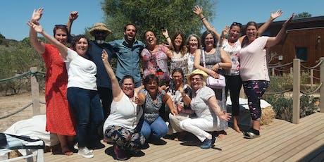 Retiro do Riso e Curso de Líder de Yoga do Riso - Biovilla bilhetes