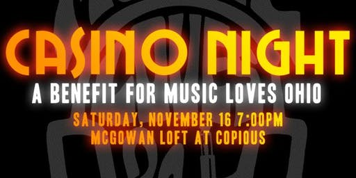 Casino Night Benefit for Music Loves Ohio