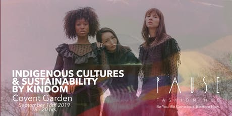 THE ROLE OF INDIGENOUS CULTURE IN SUSTAINABLE FASHION tickets