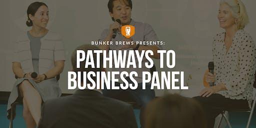 Bunker Brews Omaha: Pathways to Business Panel