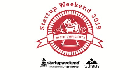 Techstars Miami University Startup Weekend Oxford Fall 2019 tickets