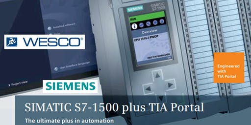 S7-1500 Siemens Advanced Automation with TIA Portal REE Hands-On Workshop @ WESCO