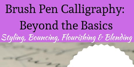 Beyond the Basics of Modern Calligraphy tickets