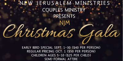New Jerusalem Ministries Christmas Gala
