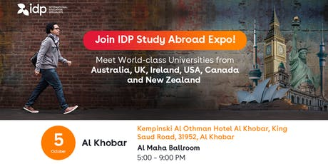 IDP Study Abroad Expo in Al Khobar! tickets