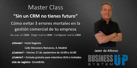 Evento Business Up Madrid Septiembre entradas