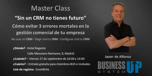 Evento Business Up Madrid Septiembre