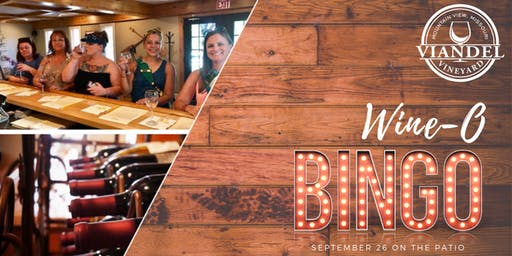 WINE-O Bingo at the Vineyard