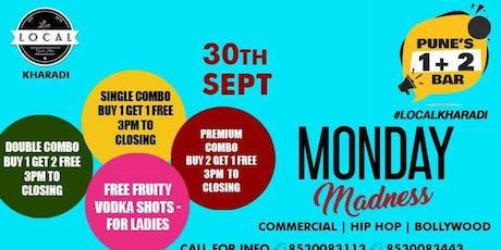 Monday Madness tickets