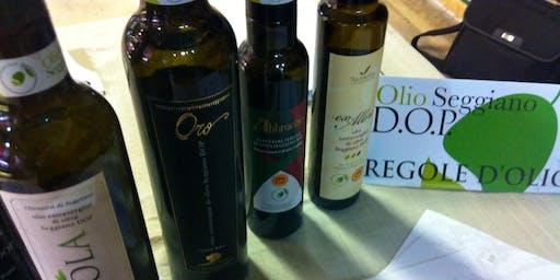 [EVENTO ANNULLATO] Olio extravergine di oliva Seggiano DOP