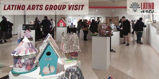 Latino Arts Group Visit