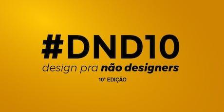 Design para não Designers São Paulo - 10ª Edição! ingressos