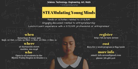 STEAMulating Young Minds tickets