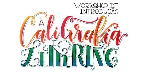 6ª turma: Workshop de Introdução ao Lettering e Caligrafia com BrushPen! ingressos
