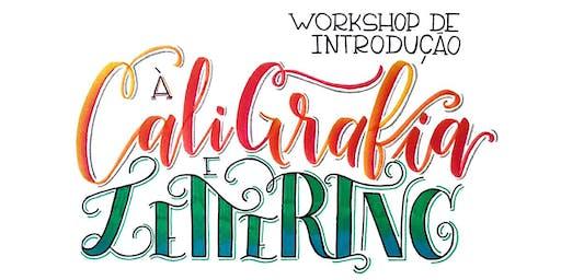 6ª turma: Workshop de Introdução ao Lettering e Caligrafia com BrushPen!
