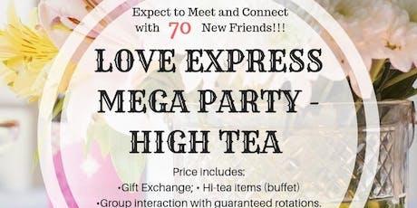 28 SEP: (50% OFF) LOVE EXPRESS MEGA PARTY @ HOTEL IN TANJONG PAGAR (大型下午茶派对) tickets