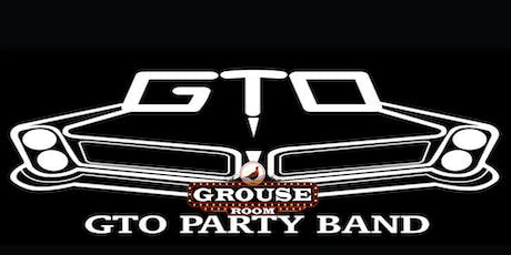 GTO Party Band tickets