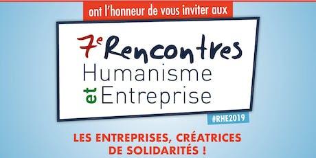 7è Rencontres Humanisme et Entreprises billets