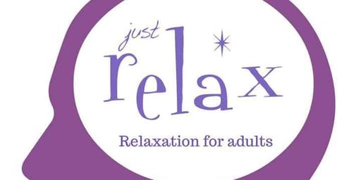 Just Relax workshops at Sensory Me