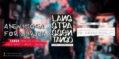 Langstrassentango : drop-in class and milonga at Langstrasse