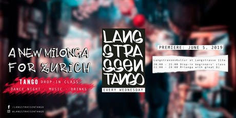Langstrassentango : drop-in class and milonga at Langstrasse tickets