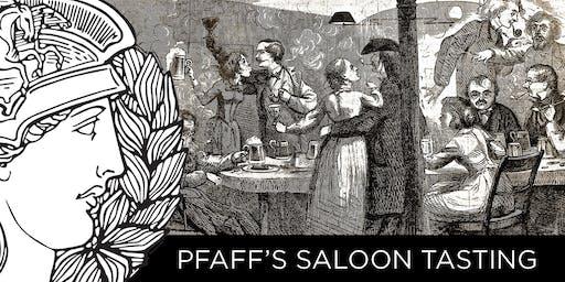 PFAFF'S SALOON TASTING