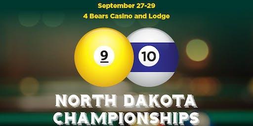 North Dakota State 9 and 10 Ball 2019 Championships