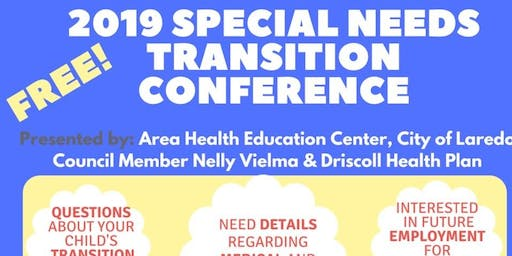 2019 Special Needs Transition Conference