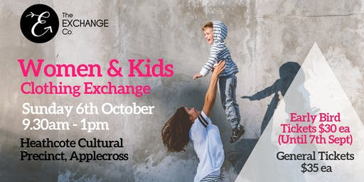 Women and Kids Clothing Exchange
