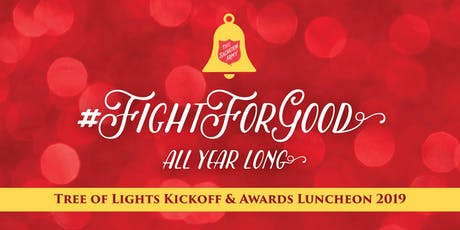 Salvation Army Tree of Lights Kickoff & Awards Luncheon 2019 tickets