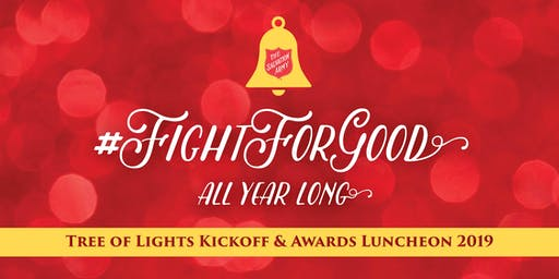 Salvation Army Tree of Lights Kickoff & Awards Luncheon 2019