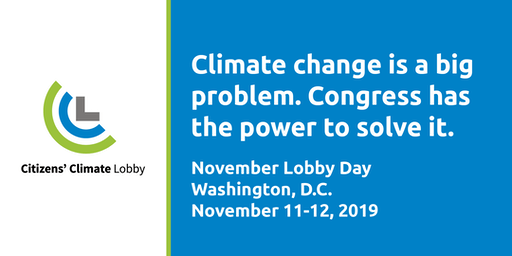 Citizens' Climate November Lobby Day 2019