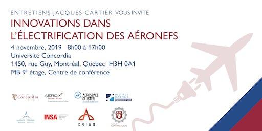 Entretiens Jacques Cartier - Innovation dans l'électrification des aéronefs