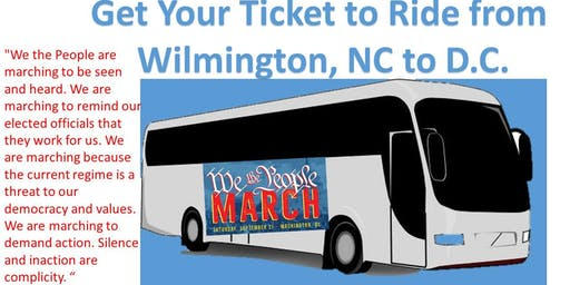 Bus Tickets for We The People March