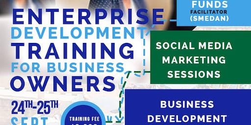 Enterprise Development Training for Business Owners