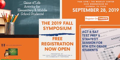 Gulf Coast Organization's 2019 Fall Symposium